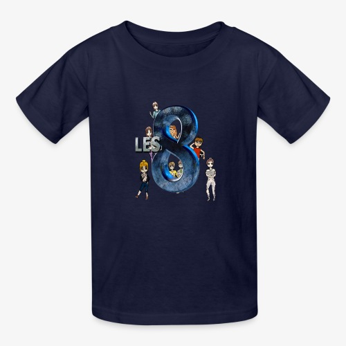 Les_8_v2 - Kids' T-Shirt