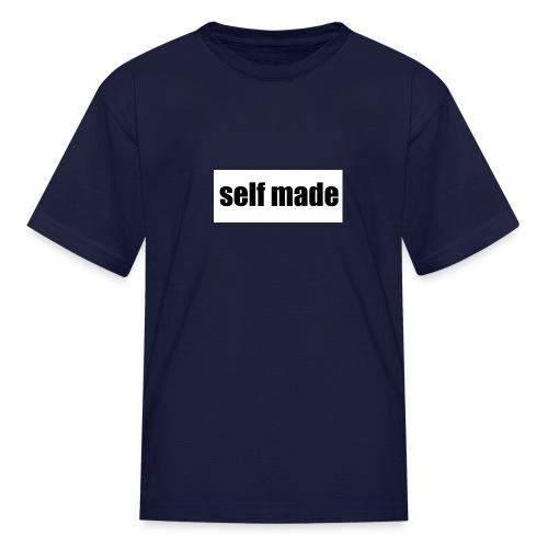 self made tee - Kids' T-Shirt