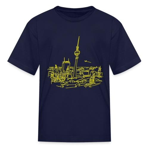 Panorama of Berlin - Kids' T-Shirt