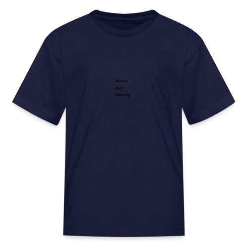 Basic AussieDadGaming - Kids' T-Shirt