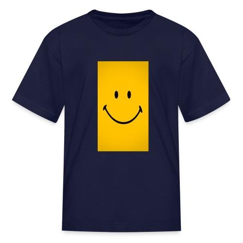 Smiley face - Kids' T-Shirt