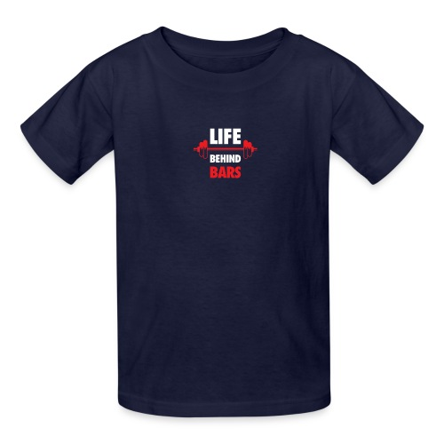 Life Behind Bars Fitness Quote - Kids' T-Shirt