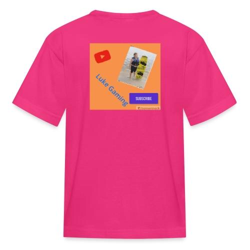 Luke Gaming T-Shirt - Kids' T-Shirt