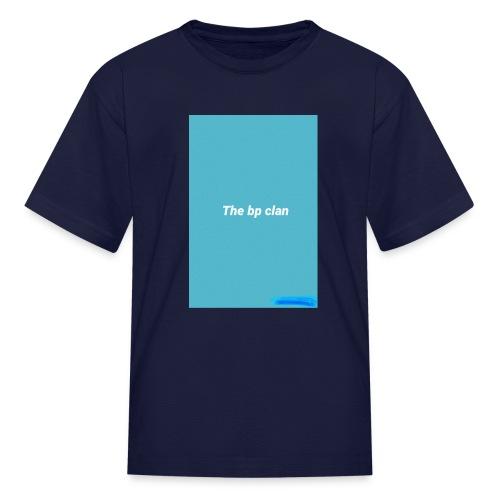 bp blue - Kids' T-Shirt