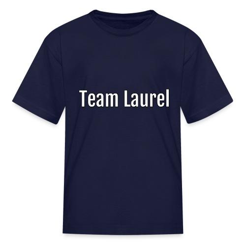 team laurel - Kids' T-Shirt