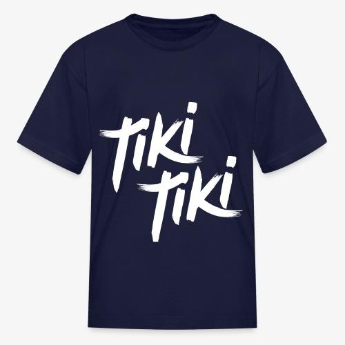Tiki Tiki logo - Kids' T-Shirt