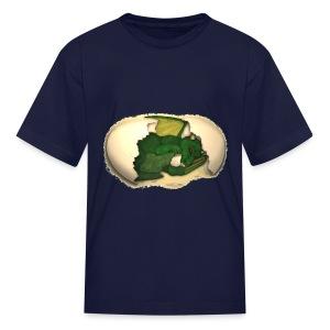 The Emerald Dragon of Nital - Kids' T-Shirt