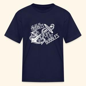 No troubles - Kids' T-Shirt