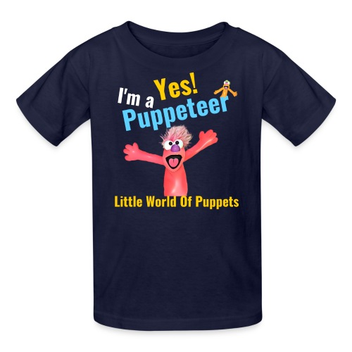 Yes I'm a Puppeteer - Kids' T-Shirt