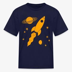 rocket orange - Kids' T-Shirt
