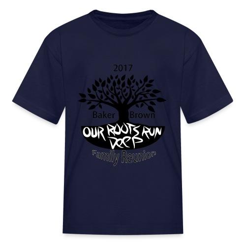 Baker Brown Family Reunion - Kids' T-Shirt