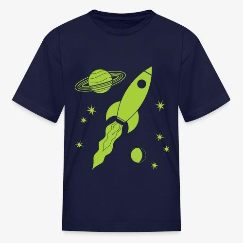 rocket green - Kids' T-Shirt