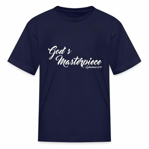 God's Masterpiece New Edition - Kids' T-Shirt