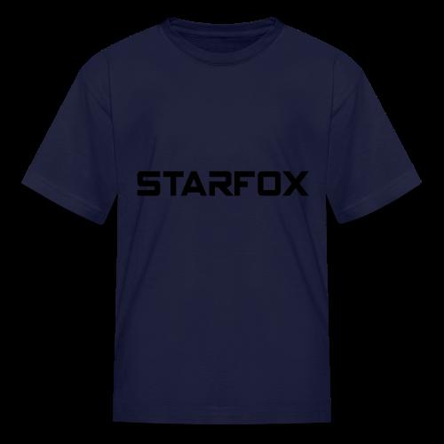 STARFOX Text - Kids' T-Shirt
