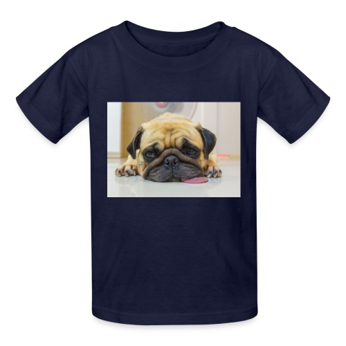 sick dog - Kids' T-Shirt