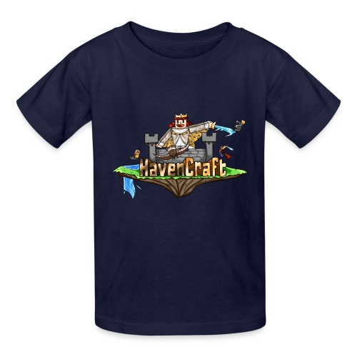 HavenCraft Full Logo - Kids' T-Shirt