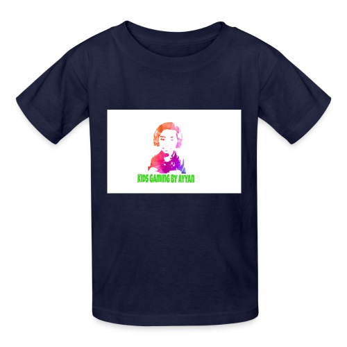 Kids Gaming by Ayyan logo tshirt - Kids' T-Shirt