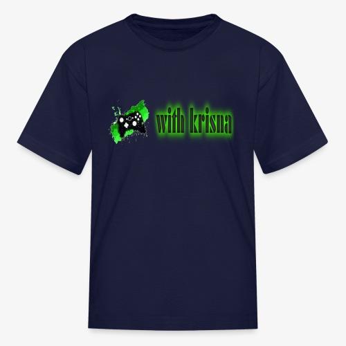 gaming with krisna merch - Kids' T-Shirt