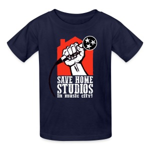 Save Home Studios In Music City - Kids' T-Shirt