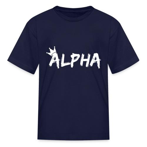 Alpha - Kids' T-Shirt