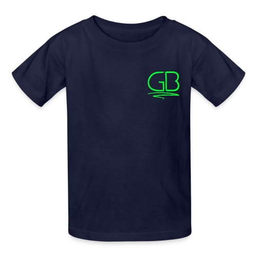 Green GB logo - Kids' T-Shirt
