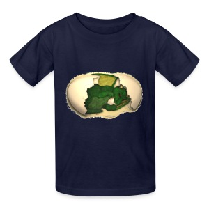 The Emerald Dragon of Nital - Kids' T-Shirt