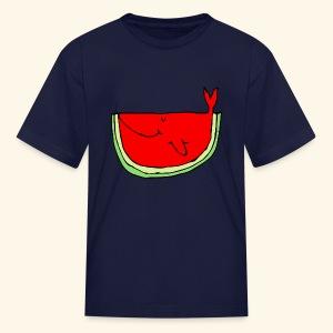 Whalemelon - Kids' T-Shirt