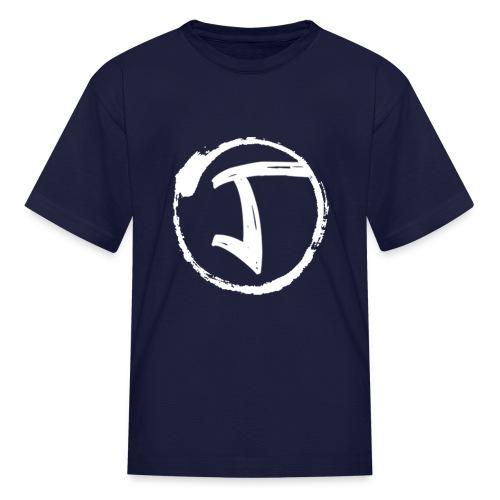 JKrew Simple White logo - Kids' T-Shirt