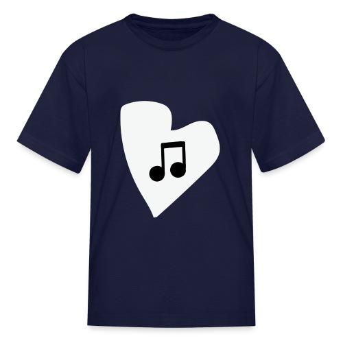 musical feeling WHITE - Kids' T-Shirt