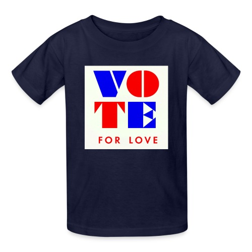 vote4love-sample - Kids' T-Shirt