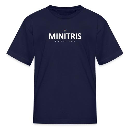 Minitris Puzzle Legend Is Back Official Wear - Kids' T-Shirt