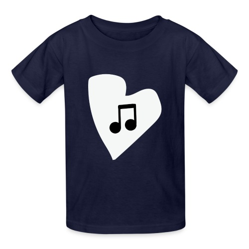 musical feeling WHITE - Kids' T-Shirt