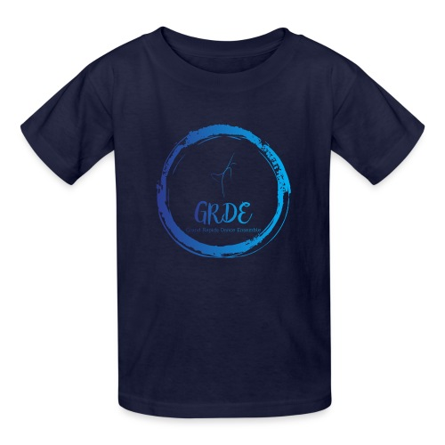 Grand Rapids Dance Ensemble logo - Kids' T-Shirt