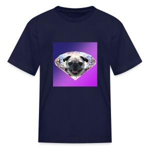 Diamond Pug - Kids' T-Shirt