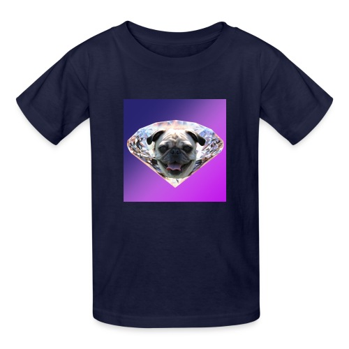 Diamond Pug - Kids' T-Shirt