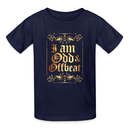 I am Odd and Offbeat - Kids' T-Shirt