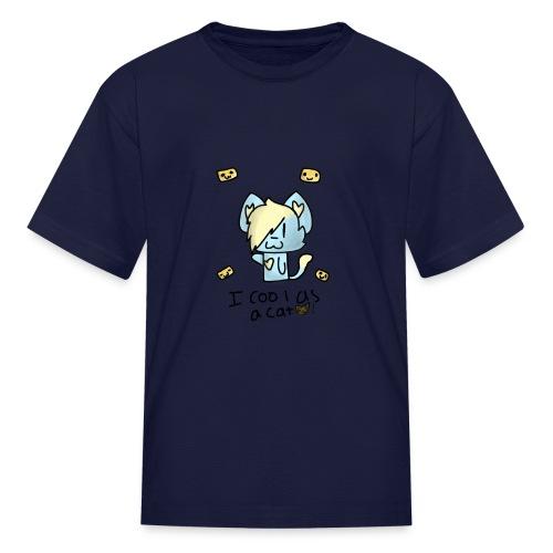 I'm cool as a cat - Kids' T-Shirt