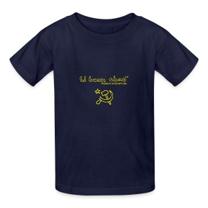 Full Li Huan Chao Logo Black+Yellow - Kids' T-Shirt