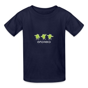 android logo T shirt - Kids' T-Shirt