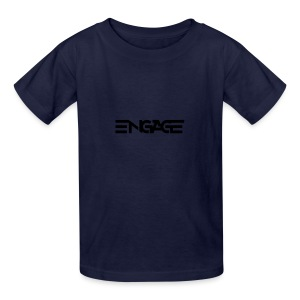 Engage-Logo-Vector - Kids' T-Shirt