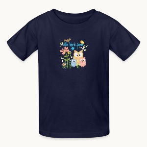 NATURE - Ellis Bird Farm - Carolyn Sandstrom - Kids' T-Shirt