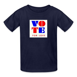 vote4love-sample - Kids' T-Shirt