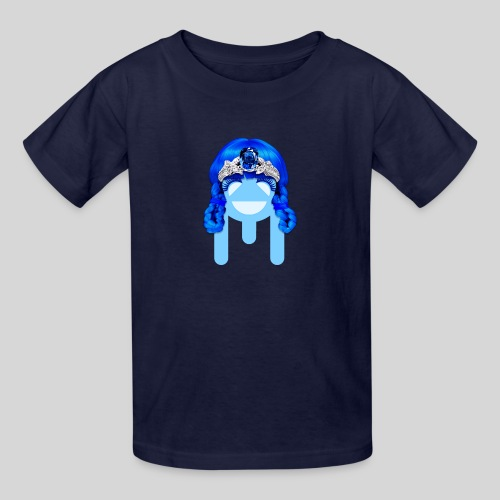 ALIENS WITH WIGS - #TeamMu - Kids' T-Shirt