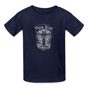 Vegan Rebel - Kids' T-Shirt