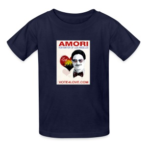 Amori for Mayor of Los Angeles eco friendly shirt - Kids' T-Shirt