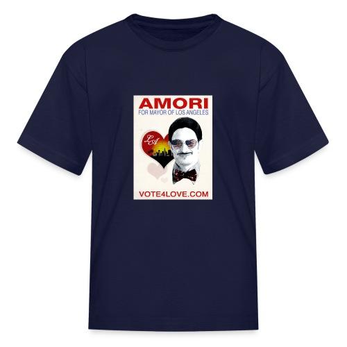 Amori for Mayor of Los Angeles eco friendly shirt - Kids' T-Shirt