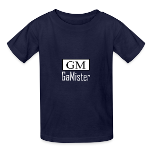 gamister_shirt_design_1_back - Kids' T-Shirt