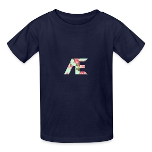 AE Floral design - Kids' T-Shirt