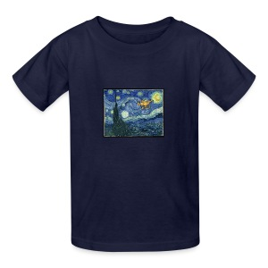 Starry Night Drone - Kids' T-Shirt