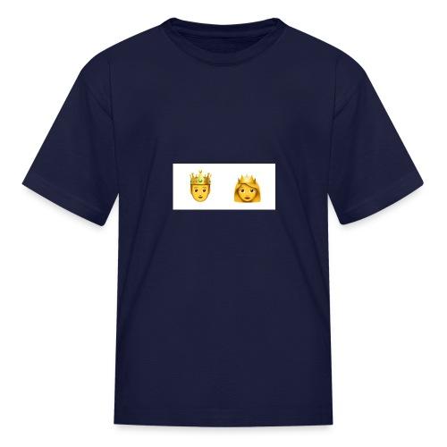 prince and princess - Kids' T-Shirt